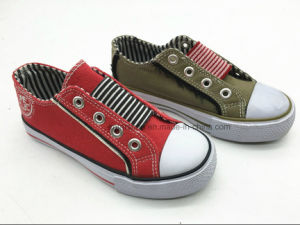 2017 Casual Canvas Children′s Footwear (ET-LH160267K) pictures & photos