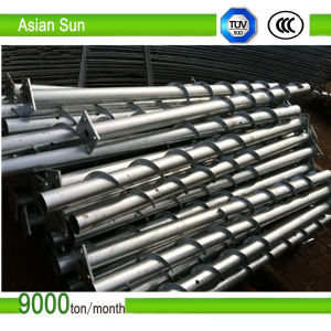 Galvanized Ground Screw Pile for Solar Energy Mounting System pictures & photos