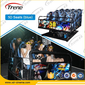 6 Seats 7D Cinema Equipment for Sale with Gunshooting pictures & photos