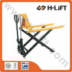 PT-Jf Type High Lift Hydraulic Hand Pallet Truck pictures & photos