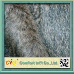 Hot Sale Artificial Long Pile Real Fur-Fabric pictures & photos