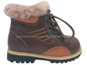 Fashion Kids Suede Low Boot pictures & photos