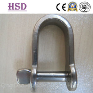 Plate Dee Shackle, Plate Bow Shackle, AISI316, AISI304 pictures & photos