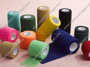 Printed Cohesive Bandage for Veterinary Use pictures & photos