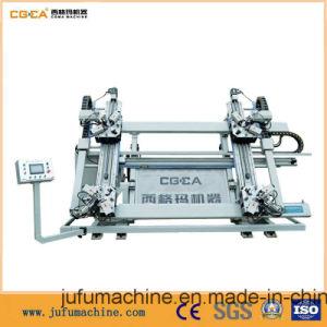CNC Four-Head Corner Combining Machine for Aluminum Win-Door pictures & photos