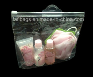 PVC Zipper Clear Bag for Cosmetic and Packing pictures & photos