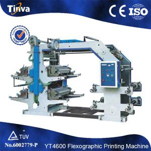 Flexo Printing Machine for Plastic Film pictures & photos