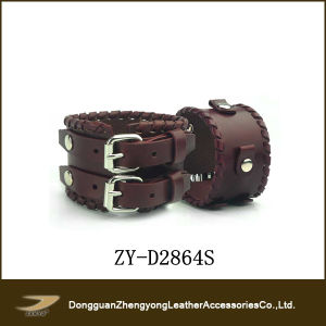 Janyo 2013 Popular Leather Bracelet for Men (ZY-D2864S)