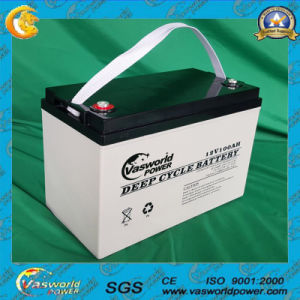 Wholesale High Capacity Battery 12V100ah AGM Lead Acid Storage Solar Battery pictures & photos