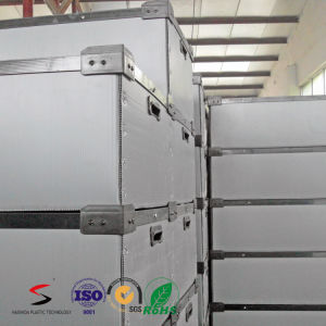 Corrugated Plastic Packaging Box Stackable Container pictures & photos