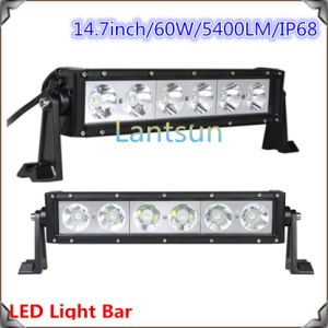 10W Double Row LED Light Bar for Trucks (LED9-60W) pictures & photos