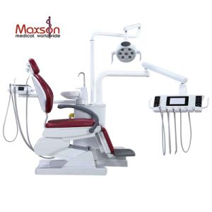 Comfortable Folding Luxury Dental Chairs with Movable Tray