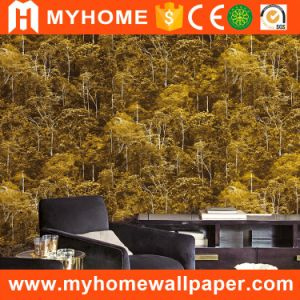 China Style Natural Forest Bamboo Wallpaper for Home Decoration pictures & photos