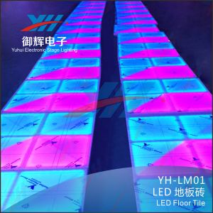 27CH LED Dancing Floor Tiles for Stage and Wedding Party pictures & photos