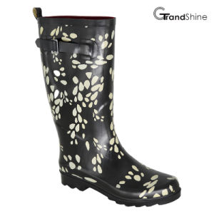 Women′s Rainboot with Adjustable Strap pictures & photos