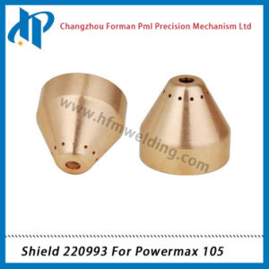 Shield Cap 220993 for Plasma Cutting Torch Consumables 105A pictures & photos