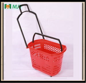 Rolling Shopping Basket Mjy-Tr11 pictures & photos