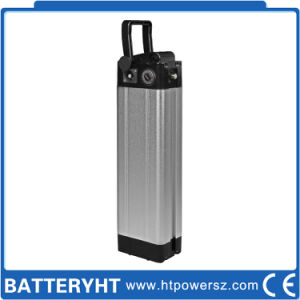 Passed Ce 36V LiFePO4 Electric Bicycle Battery with PVC Package