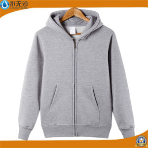 OEM Men Winter Fleece Lining Hoodie Outwear Sweatshirt Hoody pictures & photos
