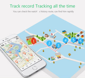 3G Kids GPS Tracking Smartwatch pictures & photos