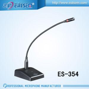 Professional Wire Conference Gooseneck Es-354 Condenser Microphone