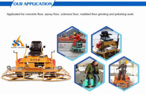 Ride on Type Concrete Power Trowel Cement Floor Finishing Machine pictures & photos