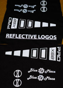 High-Effect Reflective Heat Transfer Stickers Glow in Dark pictures & photos