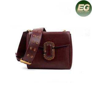2017 Fashion Handbags Genuine Smooth Leather Shoulder Bag Popular Strap Emg4872 pictures & photos