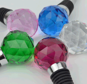 Crystal Glass Wine Accessories--Lotus Wine Stopper pictures & photos