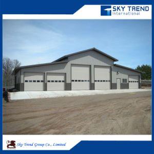 Prefabricated Steel Frame Structure Building Workshop for Cold Storage Steel Hangar Steel Garage pictures & photos