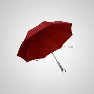 Manual Straight Umbrella Acrylic Handle Fashion Lady High Quality Aluminium Umbrella (Jl-Mam101 pictures & photos