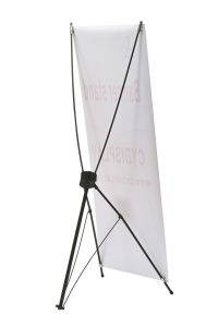 X Display Banners/X Banner Stand pictures & photos