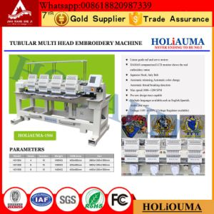Holiauma 4 Heads Computerized Embroidery Machine 15 Needles Tajima Type pictures & photos