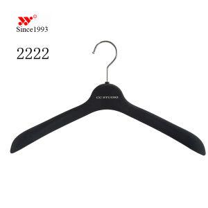 Brand Luxury Custom Anti Slip Sale Velvet Clothes Hanger pictures & photos