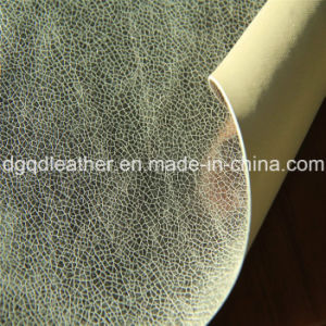 Double-Sided PU Shoes Leather (QDL-SP026) pictures & photos