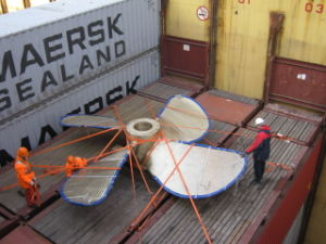 Safe Oversize Cargo Logistics From Shanghai to Croatia pictures & photos