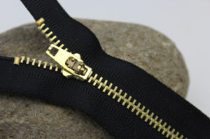 Brass Zipper (7016) pictures & photos