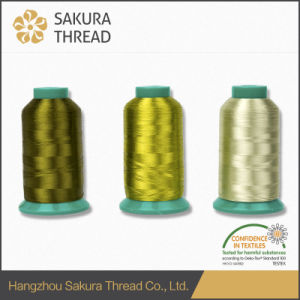 High Attractive Gorgeous Gloss and Wide Color Rayon Thread for Embroidery pictures & photos