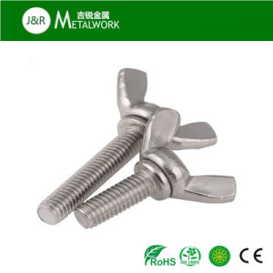 M8 Carbon Steel Galvanized Zinc Plated Wing Bolt (DIN316) pictures & photos