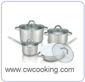 Kitchenware-8PCS Stainless Steel Cookware Set pictures & photos