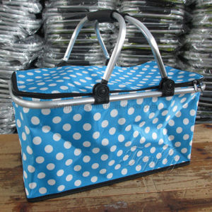 China Picnic Camping Basket with Insulated Foil pictures & photos