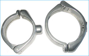 Precision Casting Stainless Steel Auot Spare Parts Pipe Fitting Clamp pictures & photos