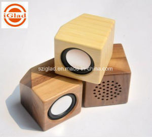 High Quality Portable Mini Wooden Speaker pictures & photos
