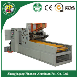 Slitting Machine for Family Size Aluminum Foil Rolls pictures & photos