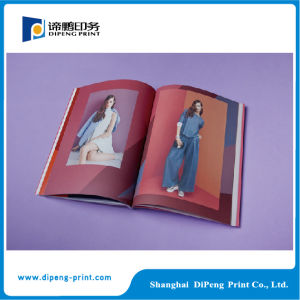 Full Color Art Paper Custom Fashion Magazine pictures & photos