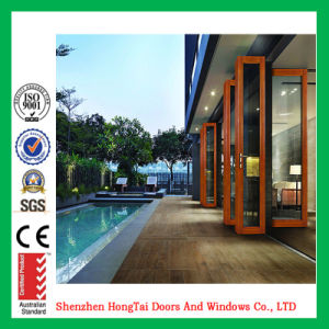 Factory Price Multi Panels Aluminum Bi Folding Door