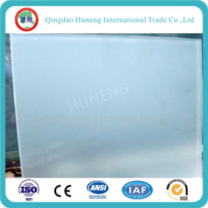 5mm Clear Acid Ectched Frosted Glass for Door Partition Ect pictures & photos
