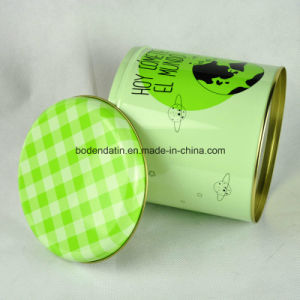 Custom Round Coffee Tin Can with Airtight Lid pictures & photos