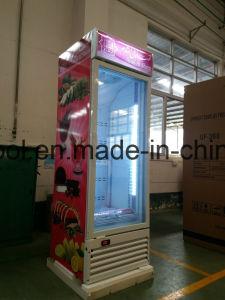 Upright Freezer Showcase /Upright Glass Door Freezer / Glass Door Fridge pictures & photos