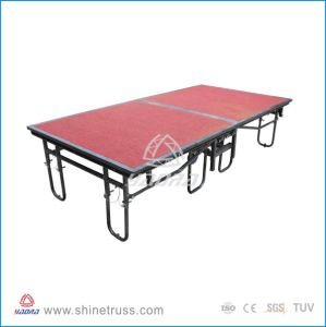 Stage, Aluminum Folding Stage for Hot Sale pictures & photos